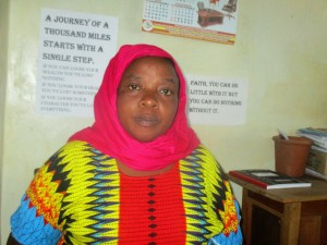 The Water Project:  Mrs Leonida Vuguza School Accounts Clerk