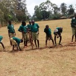 The Water Project : 4-kenya4666-marking-the-field-for-games