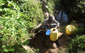 The Water Project:  Hussein Spring