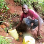 The Water Project : 4-kenya4702-fetching-water