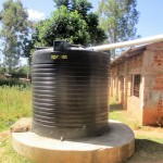 The Water Project: Friends Makuchi Secondary School -  Water Tank