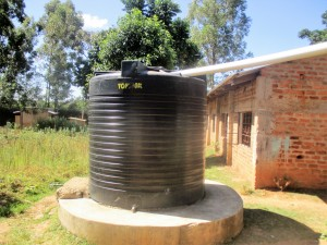 The Water Project:  Water Tank