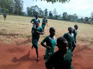 The Water Project : 5-kenya4666-practicing-athletics