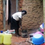 The Water Project: Emabungo Community -  Local Homestead Of Mrs Joan Odere