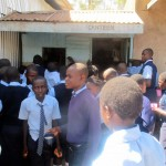 The Water Project: Ikonyero Secondary School -  Cramming Into The Canteen