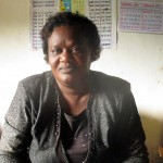 The Water Project: Ebukanga Primary School -  Mrs Emmy Sayo Orengo Headteacher