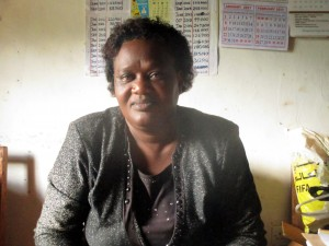 The Water Project:  Mrs Emmy Sayo Orengo Headteacher