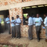 The Water Project: Ebukanga Secondary School -  Students Enjoy Lunch