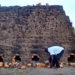 The Water Project: Mwinaya Community -  Baking Bricks
