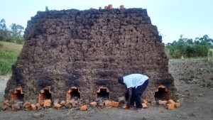 The Water Project:  Baking Bricks