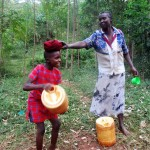 The Water Project: Kidinye Community A -  Heavy Water