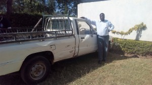 The Water Project:  Principal With His Truck