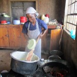 The Water Project: Ebukanga Secondary School -  Mrs Damar Makutwa Cook