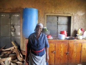 The Water Project:  Mrs Grace Amukhoye The Lead Cook