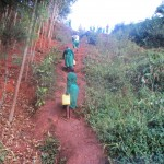 The Water Project: Emurembe Primary School -  Hill From The Spring