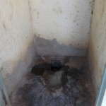 The Water Project: Malaha Primary School -  Inside A Latrine