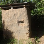The Water Project: Shitungu Community -  Traditional Latrine