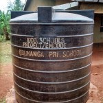 The Water Project: Ebukanga Primary School -  Liter Tank