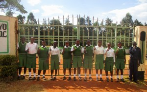 The Water Project : 1-kenya4653-school-gate