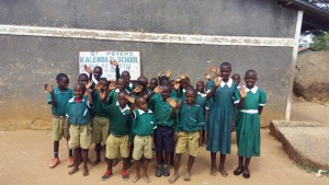The Water Project : 1-kenya4657-students-by-entrance