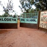 The Water Project: Walodeya Primary School -  School Entrance