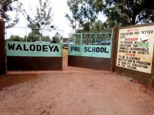 The Water Project : 1-kenya4659-school-entrance