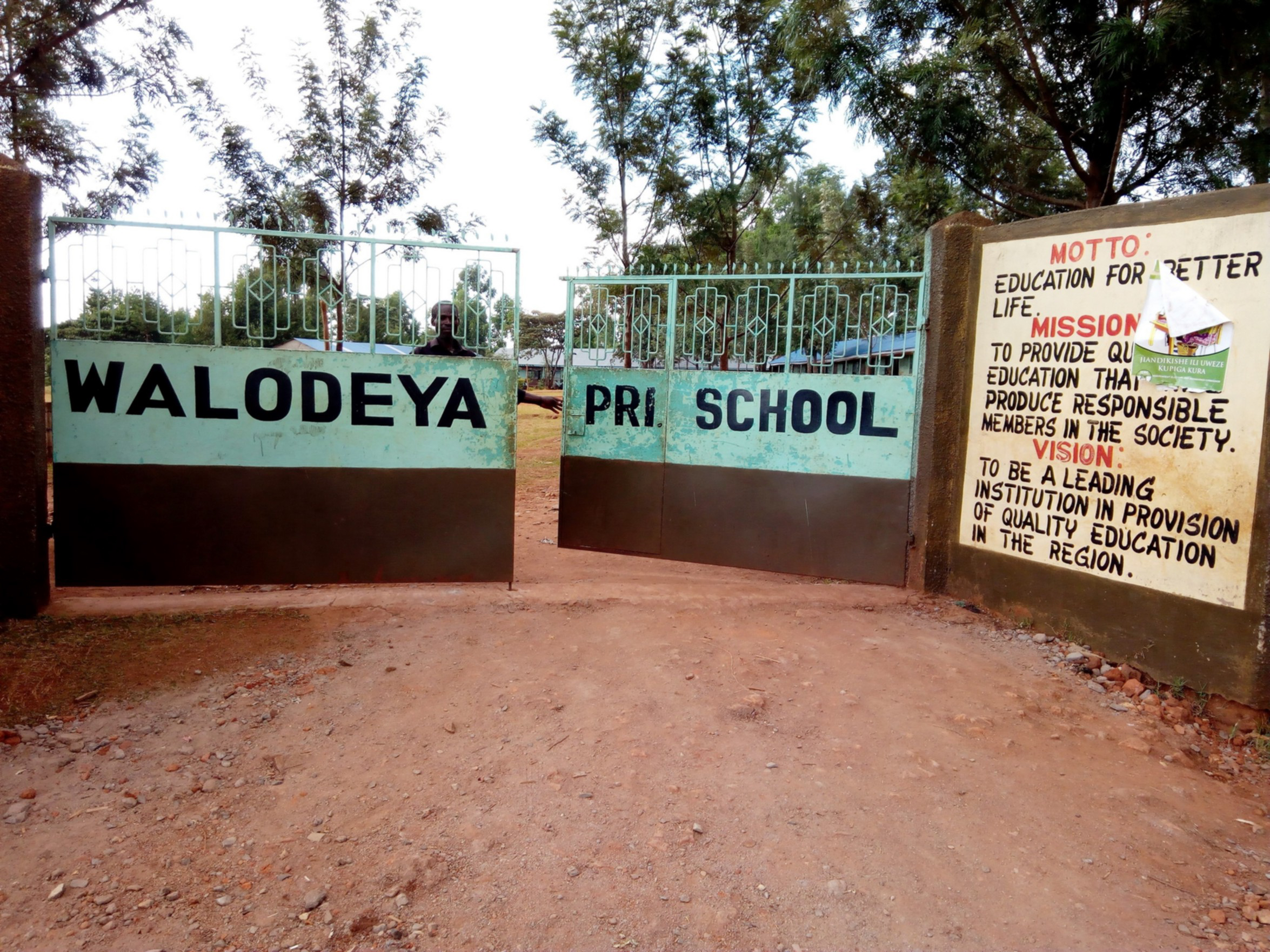 The Water Project : 1-kenya4659-school-entrance