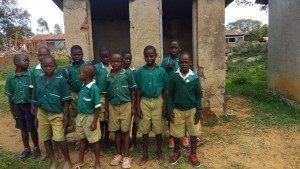 The Water Project:  Boys At Latrines