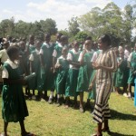 The Water Project: Essaba Primary School -  Choosing Student Leaders