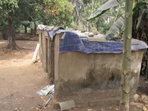 The Water Project : 10-sierraleone5104-latrine-outside1