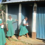 The Water Project: Essaba Primary School -  Girls Latrines