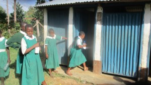 The Water Project : 11-kenya4658-girls-latrines