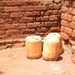 The Water Project: Katitu Community A -  Water Containers