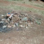 The Water Project : 12-kenya4649-school-trash-pit