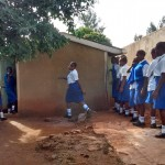 The Water Project: Matende Girls High School -  Waiting For Latrines