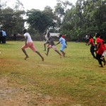 The Water Project: Digula Secondary School -  Students Playing Football