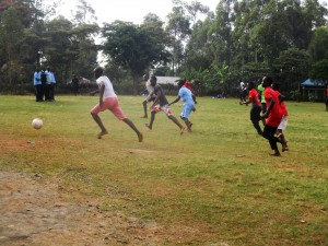 The Water Project:  Students Playing Football