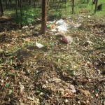The Water Project: Ebusiloli Primary School -  Garbage Pile