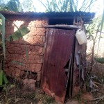 The Water Project: Bumavi Community, Shoso Mwoga Spring -  Latrine
