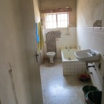 The Water Project: Tintafor, Police Barracks C-Line Community -  Inside Toilet