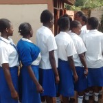 The Water Project: Matende Girls High School -  Line For Latrines