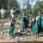 The Water Project : 13-kenya4658-children-playing-around-garbage