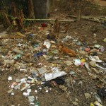 The Water Project: Petifu Junction Community -  Rubbish Pit