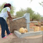 The Water Project: Kwa Mutunga New Well Project -