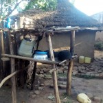 The Water Project: Bumavi Community, Shoso Mwoga Spring -  Dish Rack