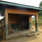 The Water Project: DEC Primary School -  Sierraleone Teachers Quarters Kitchen
