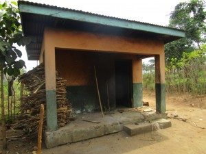The Water Project:  Sierraleone Teachers Quarters Kitchen