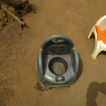 The Water Project: Ponka Village -  Children Portable Toilet