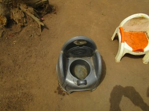 The Water Project:  Children Portable Toilet