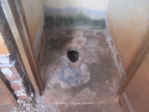 The Water Project : 15-kenya4653-inside-latrine